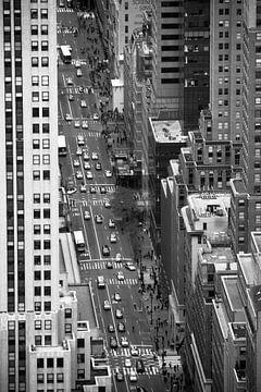 Blik op NYC van denk web