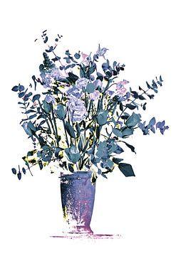 Boeket bloemen van Sran Vld Fotografie