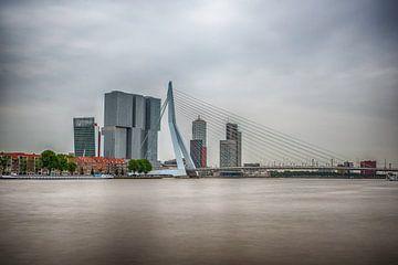 Rotterdam Erasmusbrug van Geertjan Kuper