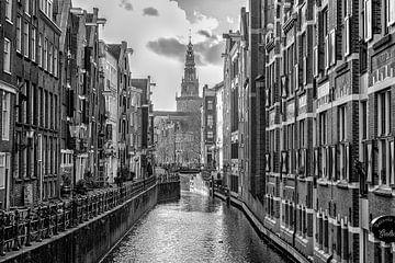Oudezijds Kolk in Amsterdam sur Don Fonzarelli