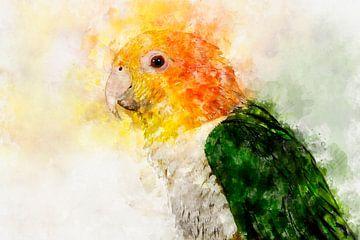 Caique portret van Elles Rijsdijk