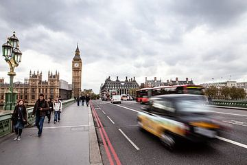 Le pont de Westminster à Londres sur Eric van Nieuwland