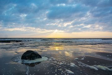 Zonsondergang in Nederland
