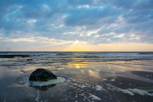 Zonsondergang in Nederland von Arjen Schippers