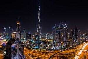 Burj Khalifa Dubai by Night