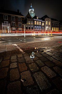 Soirée atmosphérique sur l'IJsselkade à Deventer sur Fotografiecor .nl