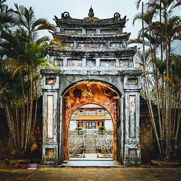 Minh Mang Kaisergrab in Hue, Vietnam von Michael.Pixels