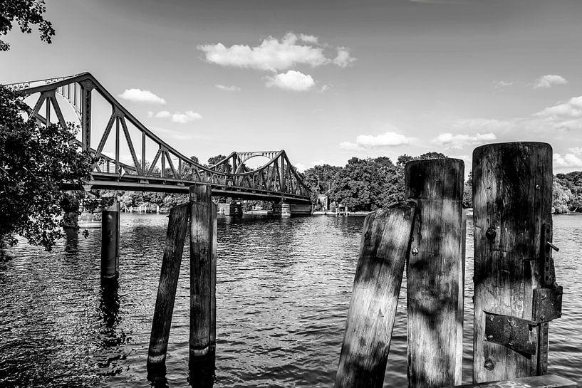 Le pont Glienicke sur Frank Herrmann