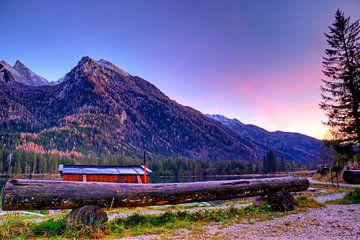 Die Hütte am Hintersee von Roith Fotografie