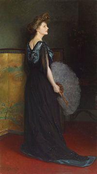 Porträt von Frau Francis Stanton Blake, Julius LeBlanc Stewart