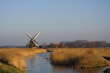 """Dutch mill """"Noordermolen"""" in Groningen sur Sandra de Heij"""