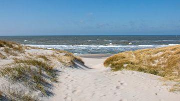 Strandopgang van Pieter Heres