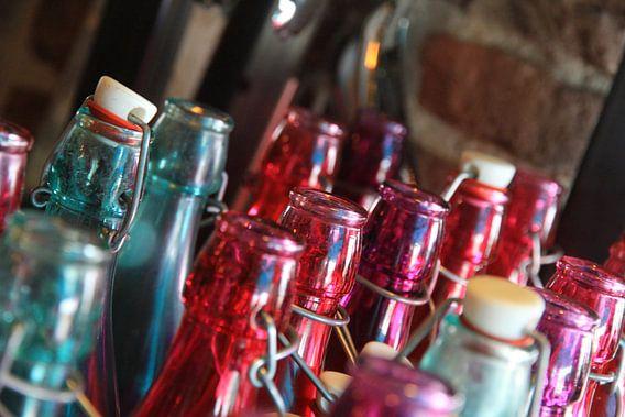 Beugel fles van Fred Vester