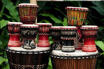 Afrikaanse drums sur Patricia Verbruggen