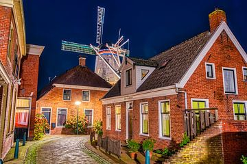 Windmühle der Stern in Winsum von Sterkenburg Media