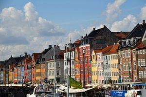 Nyhavn, Kopenhagen van Greetje Dijkstra
