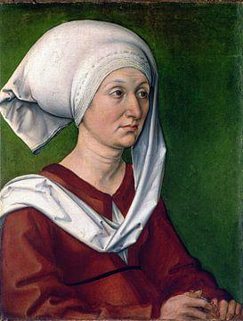 Albrecht Dürer. Portrait