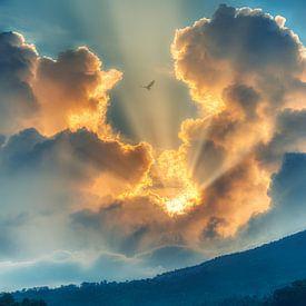 Flying in a Blue dream van Ardi Mulder