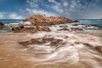 Paysage côtier de la Bretagne sur Ko Hoogesteger