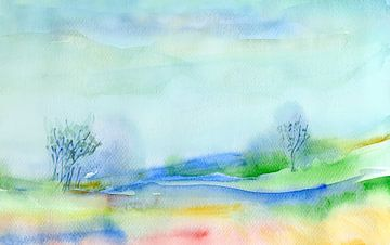 blue nature von Claudia Gründler