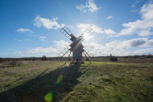 Die Windmühlen von Oland (Schweden) von Aurelie Vandermeren