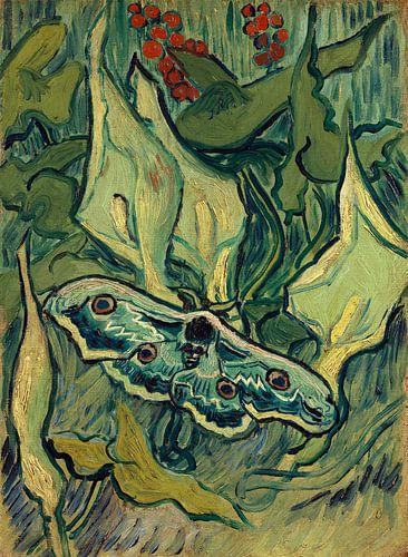 Vincent van Gogh, Grote nachtpauwoog van 1000 Schilderijen