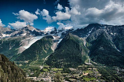 De Mont Blanc in alle glorie van Jef Folkerts
