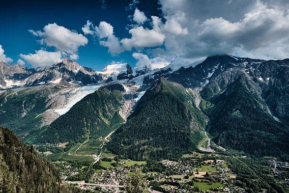 De Mont Blanc in alle glorie