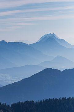 Blauwe Bergen van Coen Weesjes