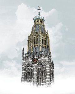 Zuiderkerk Enkhuizen van Willem Heemskerk