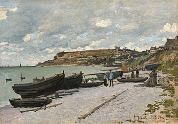 Sainte-Adresse (Fischerboote), Claude Monet