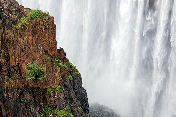 Die Victoriafälle bei Livingstone und Victoria Falls von Evert Jan Luchies