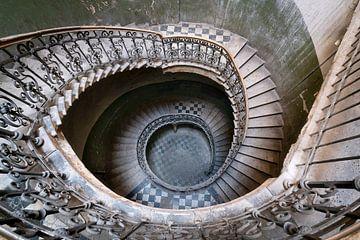 Das Auge der Treppe. von Roman Robroek