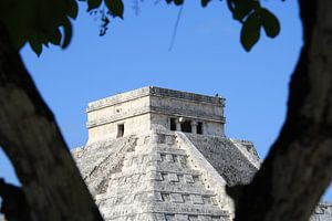 Piramide van Kukulcán van Mr Greybeard