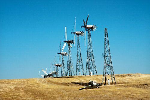 The Fallen windmill off San Francisco von Arjen Scholten Photography