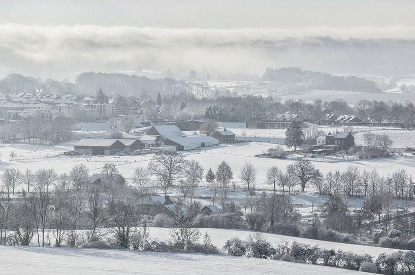 Winter in Vaals van John Kreukniet