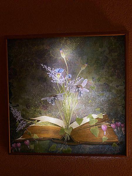 Photo de nos clients: Book of inspiration - flowers sur Studio Papilio, sur toile