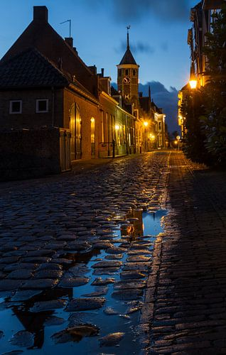 Willemstad na de regen