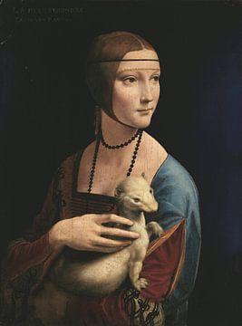 Dame à l'hermine, Léonard de Vinci sur