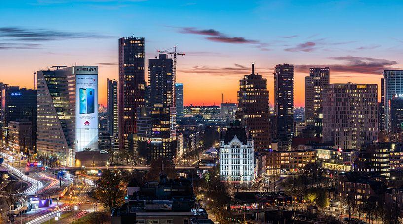 Rotterdam skyline in details part 2 van Midi010 Fotografie