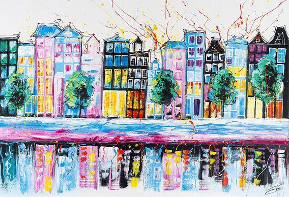Colorful Amsterdam