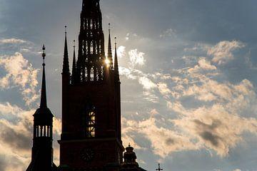 die Kirche in Stockholm von Karijn Seldam