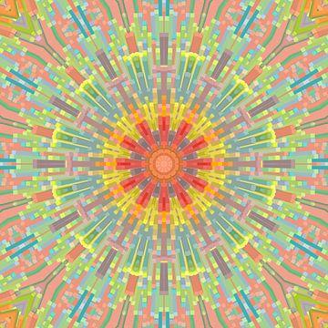Mandala-stijl 70 van Marion Tenbergen
