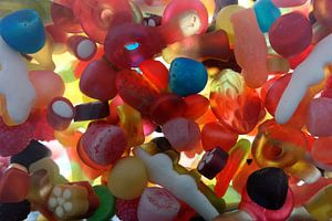 Kleurrijk snoep
