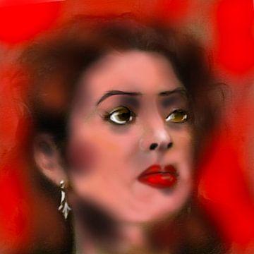 Vrouw...rood van Raina Versluis