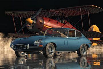Jaguar E Type uit 1960