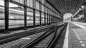 Railway lines van