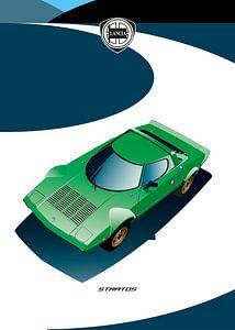 Lancia Stratos von Martino Romijn