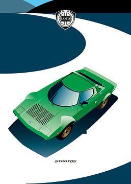 Lancia Stratos van Martino Romijn