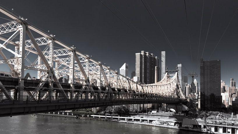 Queensboro Bridge     New York van Kurt Krause